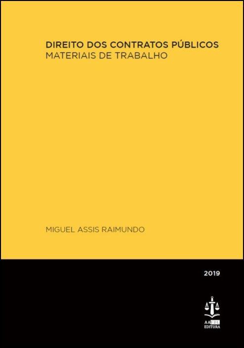 Direito dos Contratos Públicos - Materiais de Trabalho