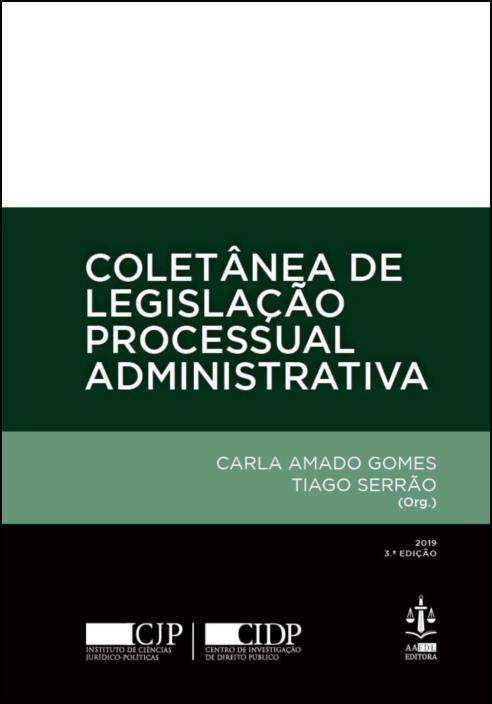 Coletânea de Legislação Processual Administrativa