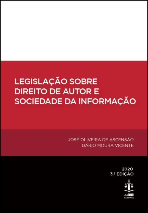 Legislação sobre Direito de Autor e Sociedade da Informação