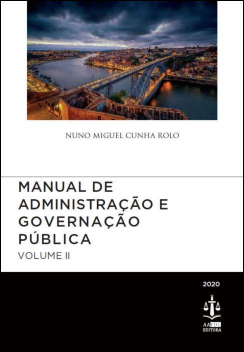 Manual de Administração e Governação Pública Volume II