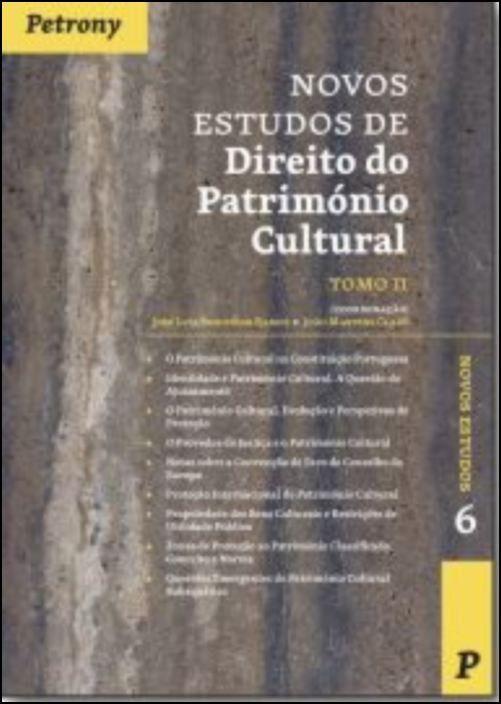 Novos Estudos de Direito do Património Cultural
