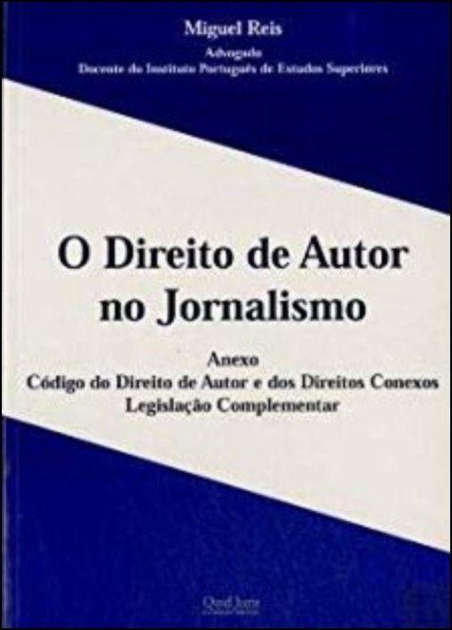 O DIREITO DE AUTOR NO JORNALIS