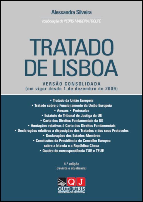 Tratado de Lisboa - Versão Consolidada