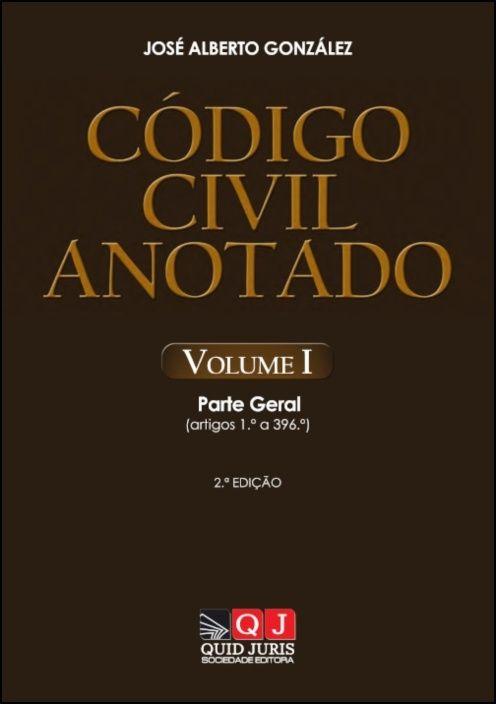 Código Civil Anotado - Volume I
