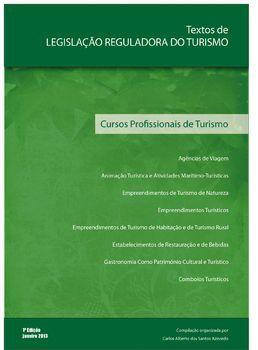 Textos de Legislação Reguladora do Turismo