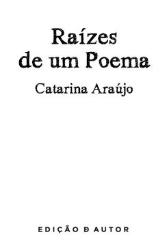 Raizes de Um Poema