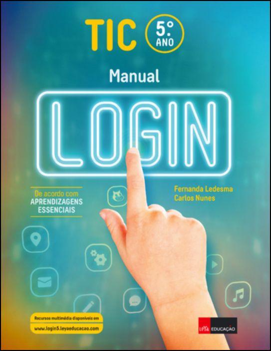 TIC 5º Ano - Manual Log In