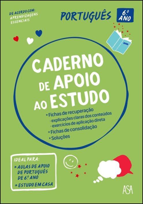 Caderno de Apoio ao Estudo - Português - 6.º Ano
