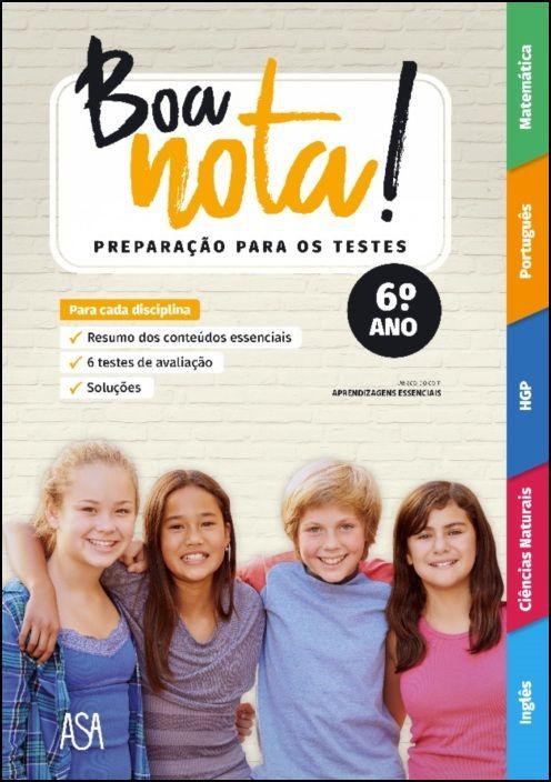 Boa Nota! Preparação para os Testes - 6.º ano