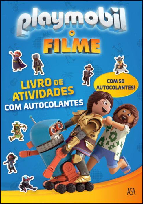 Playmobil, o Filme - Livro de Atividades com Autocolantes