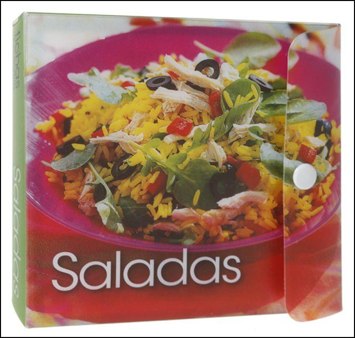 Fichas de Culinária - Saladas
