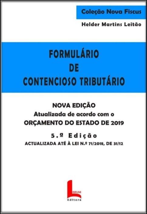Formulário de Contencioso Tributário