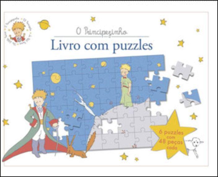 O Principezinho - Livro com Puzzles