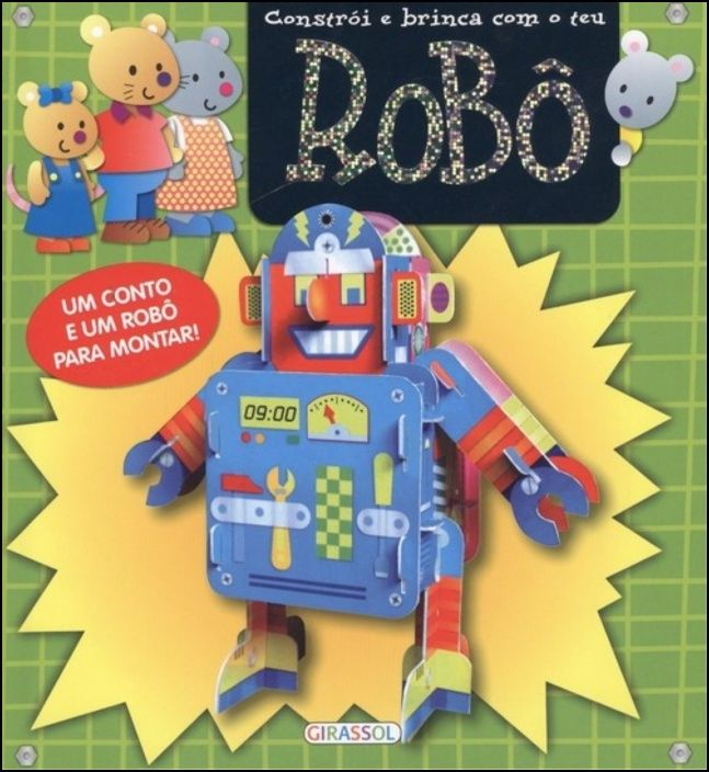 Robô - Constrói e Brinca