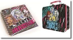 Monster High: Livro de Memórias Momentos de Arrepiar com Oferta de Lancheira