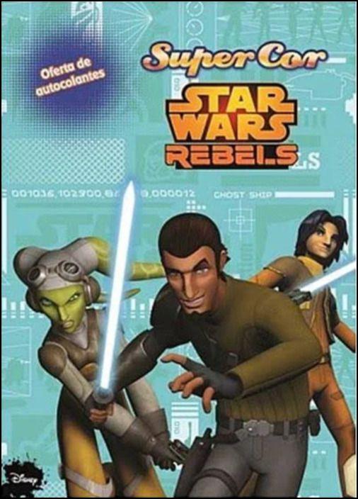 Star Wars Rebels - Autocolantes Super Cor