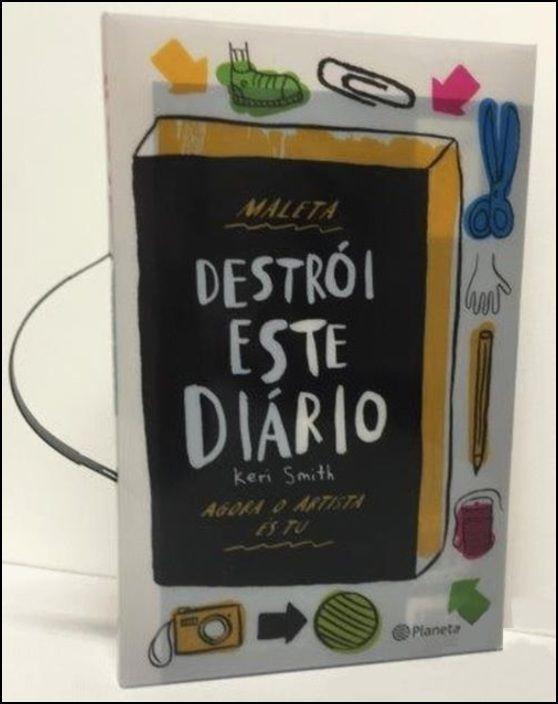 Destrói Este Diário - Com Oferta de Maleta e Lápis