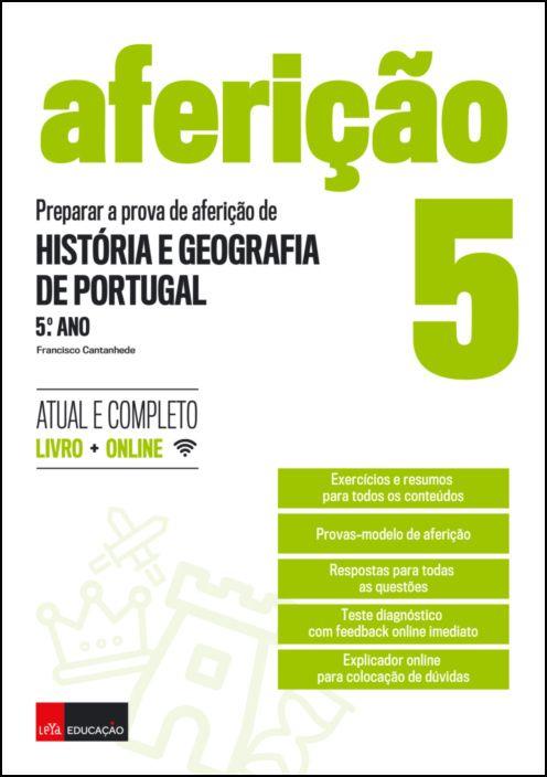 Preparar a Prova de Aferição de Historia e Geografia de Portugal - 5º Ano