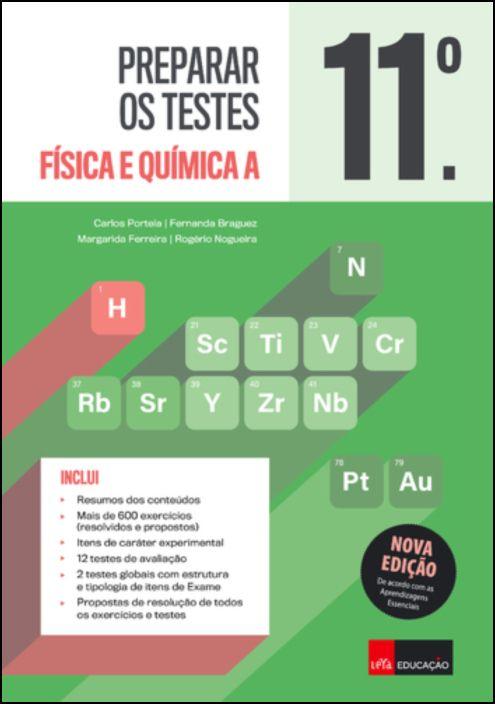 Preparar os Testes Física e Química 11.º ano