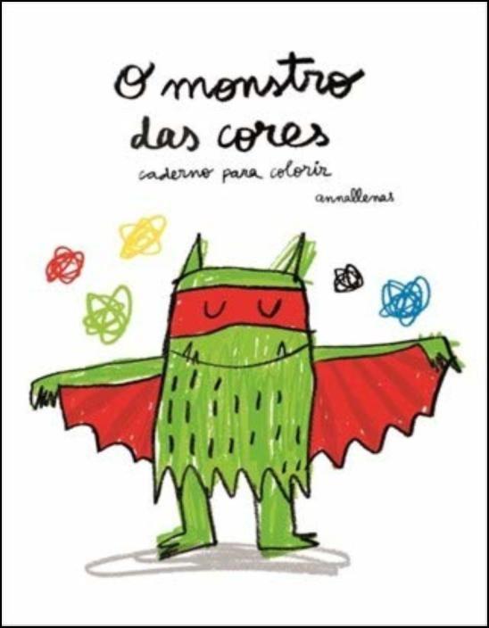 O Monstro das Cores- Livro de Colorir