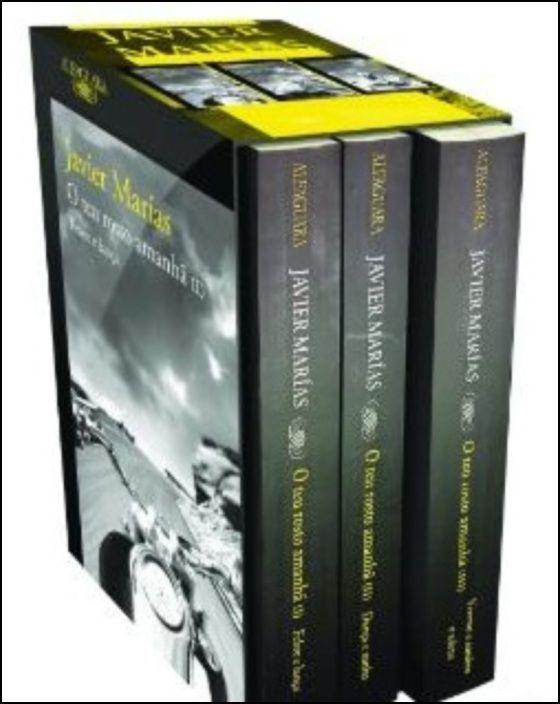 O Teu Rosto Amanhã - Caixa 3 Volumes