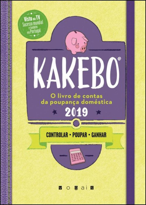 Kakebo 2019 - O Livro de Contas da Poupança Doméstica