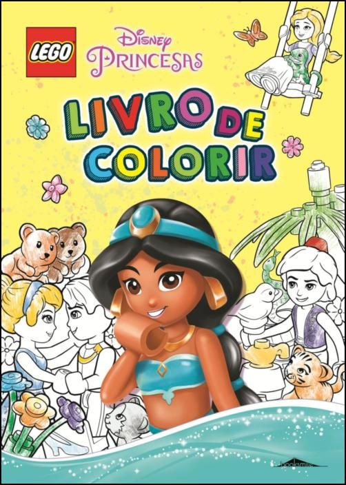 LEGO Disney Princesas: Livro de Colorir