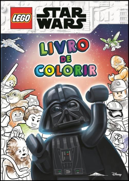 LEGO® Star Wars - Livro de Colorir