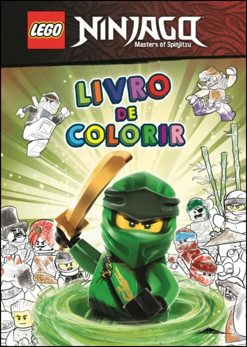 LEGO® Ninjago: Livro de Colorir