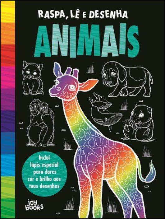 Raspa, Lê e Desenha: Animais