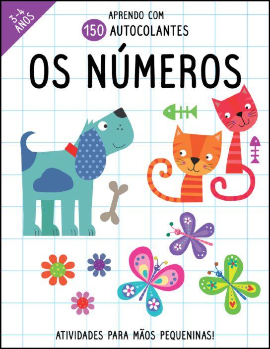 Aprendo com 150 Autocolantes: Os Números