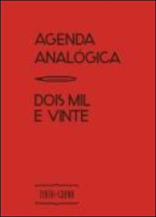 Agenda Analógica 2020 (Vermelho)