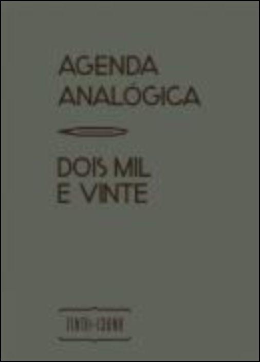 Agenda Analógica 2020 (Cinzento)