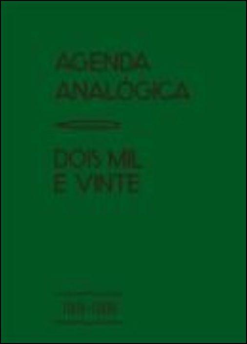 Agenda Analógica 2020 (Verde)