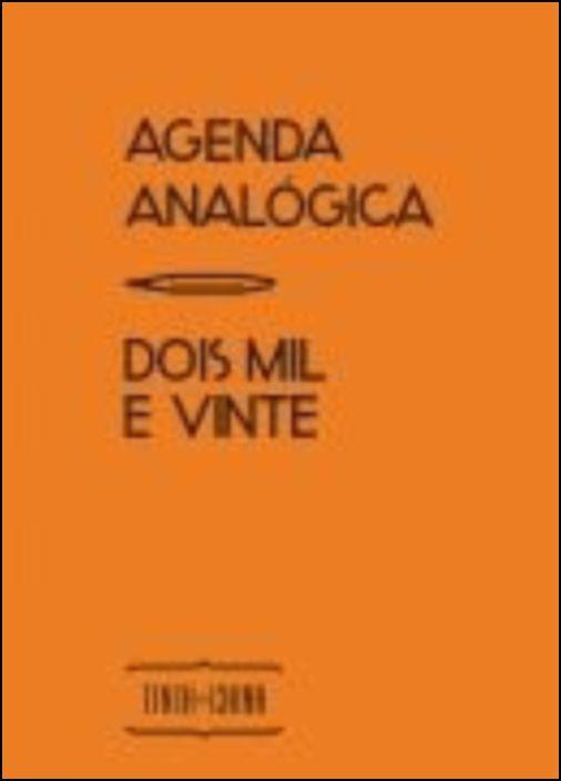 Agenda Analógica 2020 (Amarelo)