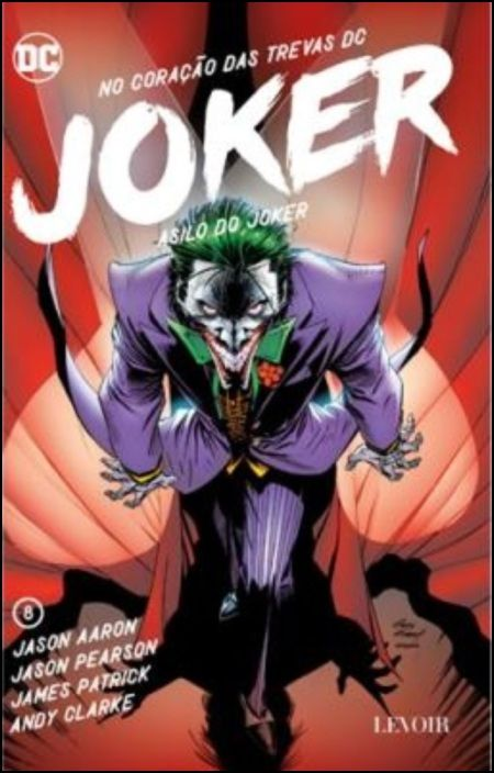 Joker: o asilo do Joker - Vol. 8