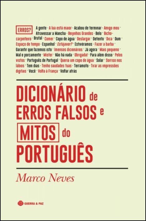Dicionário de Erros Falsos e Mitos do Português