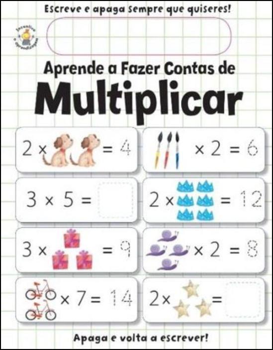 Aprende a Fazer Contas de Multiplicar