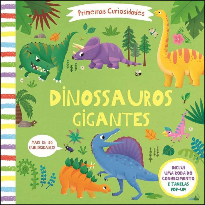 Primeiras Curiosidades - Dinossauros Gigantes