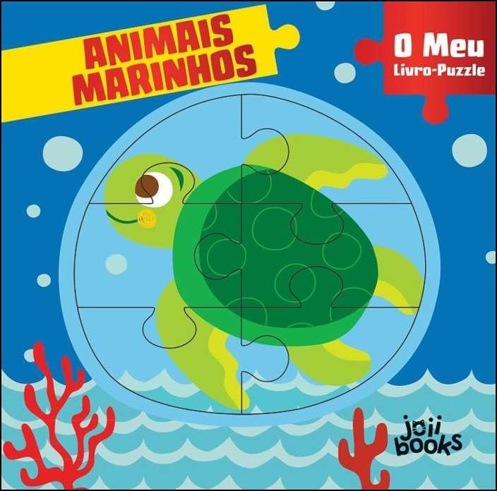 O Meu Livro-Puzzle - Animais Marinhos