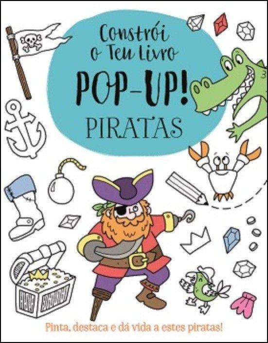 Constrói o Teu Livro Pop-up - Piratas
