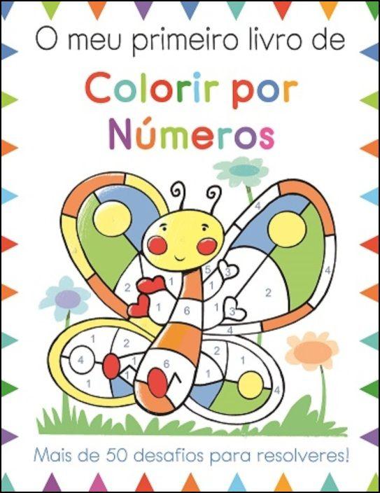 O Meu Primeiro Livro de Colorir por Números