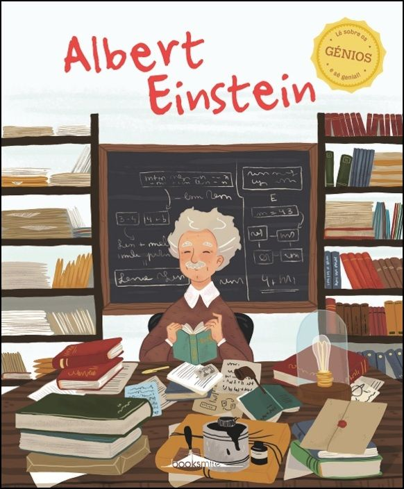 Génios 6 - Albert Einstein