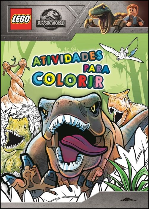 LEGO® Jurassic World - Atividades para Colorir