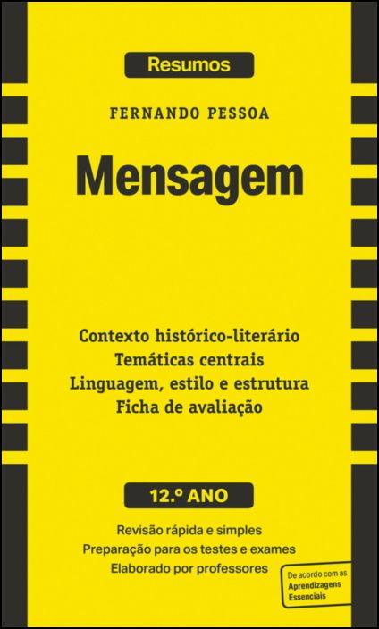 Resumos - Mensagem - Fernando Pessoa - 12.º ano