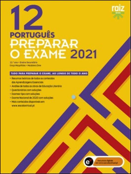 Preparar o Exame 2021  Português  12.º Ano