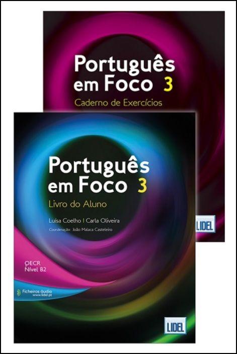 Português em Foco 3 - Pack Económico (Livro do Aluno+ Caderno de Exercícios)