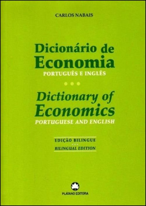 Dicionário de Economia - Português e Inglês