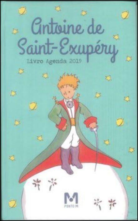 Livro-Agenda Ilustrada Antoine de Saint-Exupéry 2019