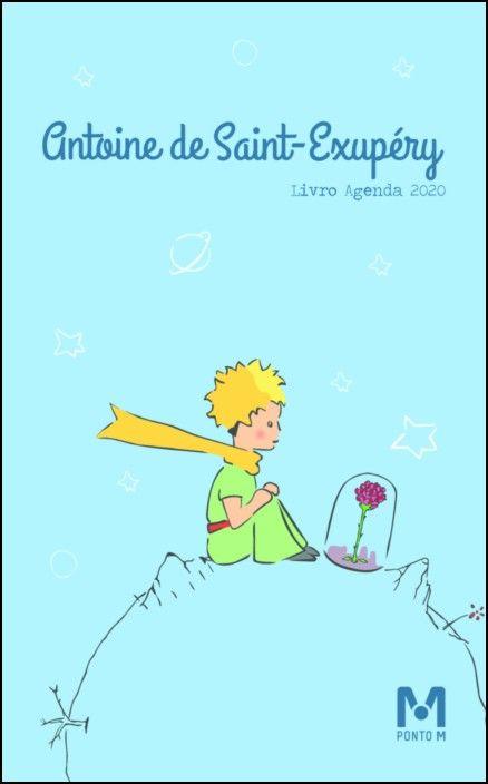 Livro-Agenda Saint-Exupery (Principezinho) 2020